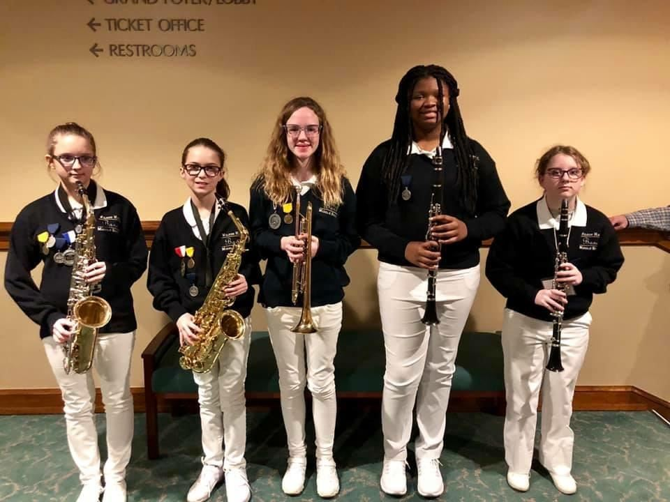 Samford University Honor Band Participants